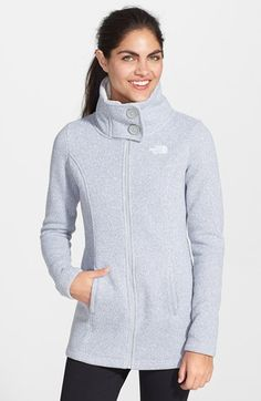 The+North+Face+'Lunabrooke'+Sweater+Jacket+available+at+#Nordstrom