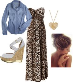 """A Little Bit Wild"" by danicashea on Polyvore"