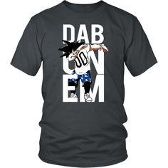 Super Saiyan Goku Dab Men Short Sleeve T Shirt - TL00495SS
