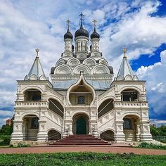 Church of the Annunciation of the Blessed Virgin. Russian Architecture, Sacred Architecture, Church Architecture, Religious Architecture, Beautiful Architecture, Beautiful Castles, Beautiful Buildings, Monuments, Temple