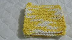 Crocheted Coasters Trivets - Daisy Ombre #handmade #etsyretwt