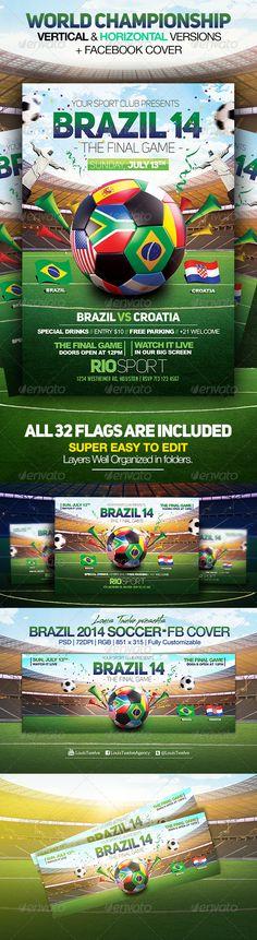 World Championship 2014 | Flyers + FB Cover V2