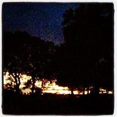 Craster at dusk
