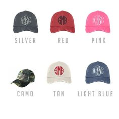 Personalized Distressed Cap | Jane