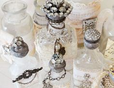 Seaside Inspirations for jewelry | One Girl In Pink: Vintage Costume Jewelry Rescue