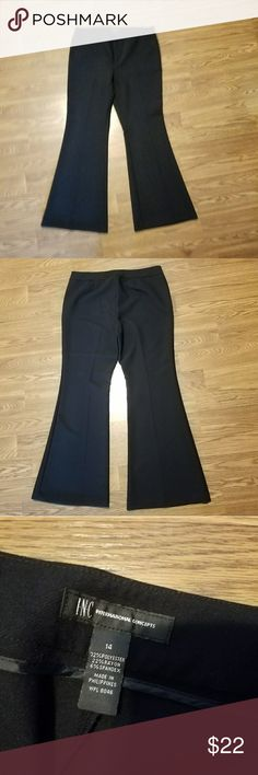 dfae0643e2a INC black pants International Concepts black pants. Flare leg. Excellent  condition. Like new