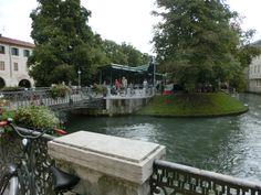 Treviso...l'isoletta della pescheria
