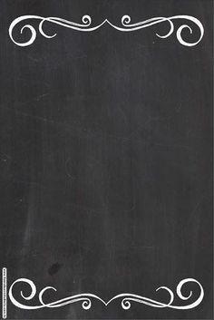 estilos Brown Things new brown hair color 2018 Page Borders Design, Border Design, Food Poster Design, Menu Design, Story Instagram, Instagram Story Template, Menu Pizza, Chalkboard Wallpaper, Chalkboard Background