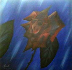 cricar.com   What was young sometime, oil on canvas painting by Carmen Cristea