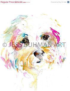 Customer Love Sale Print of Watercolor Painting por ArtbyJessBuhman
