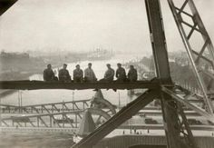 My pride the bridge called De Hef Rotterdam photo made in 1932. The other lower bridge you see called the Koninginnebrug.