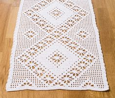 Baby Knitting Patterns, Crochet Patterns, Lace Doilies, Crochet Lace, Table Runners, Bohemian Rug, Delena, Blanket, Rugs