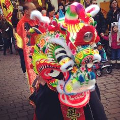 Quirky Unicorn Dance to celebrate Chinese New Year :-) (at Lancaster)
