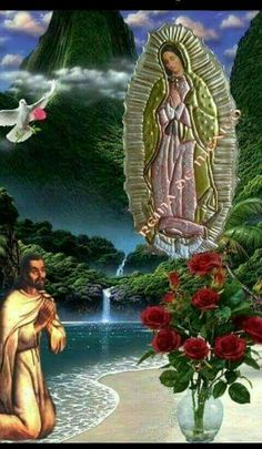Pictures Of Jesus Christ, Religious Pictures, Mary And Jesus, Jesus Is Lord, God, Blessed Mother Mary, Blessed Virgin Mary, Virgin Mary Painting, Love Wallpaper Backgrounds