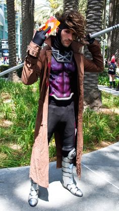 Gambit cosplay...best one ive seen so far