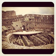 Through the eyes of Melinda. #Italy # Rome #photography #Colosseum