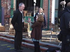 Gloria (Young Christina) holds Liam Cunningham & Stephen Bradley in rapt…