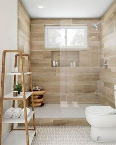 Bathroom remodel diy budget renovation wall colors lovely 70 suprising small bathroom design ideas and decor Bathroom Design Small, Simple Bathroom, Bathroom Interior Design, Bathroom Ideas, Small Bathrooms, Shower Ideas, Bathroom Spa, Bathroom Storage, Bath Design