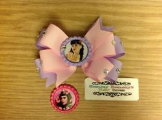 Katy Perry Inspired Hair Bow by Sammy by SammyBananysHairBows  artist bows, hair bows, necklaces are available, party favors, bows, big bows, i love bows