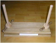 Prasy introligatorskie - drewniane prasy belkowe - prasy do oporkowania - szywnice introligatorskie - kontakt