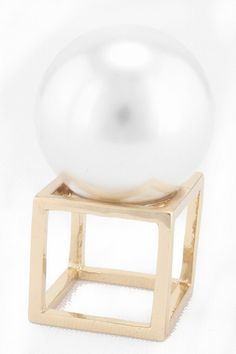 Pearl Box Ring from Gypsy Outfitters