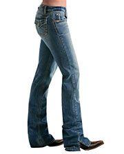 Cruel Girl Ladies Georgia Flap Pocket Jeans - Slim - www.fortwestern.com