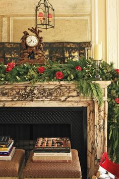 Brick Fireplace Christmas Decor Html Amazing Home Design 2019