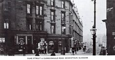 Duke Street at Cumbernauld Road & Miller Street East