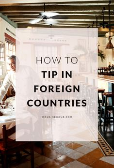 The ultimate international tipping guide
