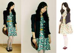 Vintage preppy look 3 (by Nancy Zhang) http://lookbook.nu/look/242583-vintage-preppy-look-3