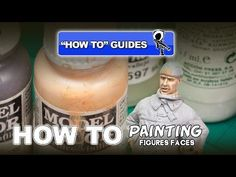 Painting figures face step by step video Tutorial | Plastic Models World