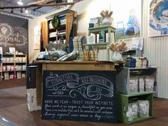 Get Inspired… | Miss Mustard Seeds Milk Paint home show booth in Toronto 2014