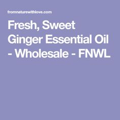 Detailed description for our premium quality Fresh, Sweet Ginger Essential Oil. We offer an impressive range of pure certified organic and conventional Essential Oils for aromatherapy, skin and hair care, massage and spa formulations. Ginger Essential Oil, Essential Oil Uses, Essential Oils Wholesale, Steam Distillation, Aromatherapy, Hair Care, Essentials, Fresh, Pure Products