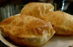 indian fried puri bread