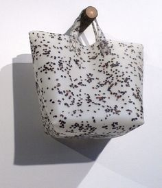 Luisa Cevese Riedizioni collection for Poilâne, made in Milan | polyurethane + textile + paper scraps + buckwheat bran + grasses