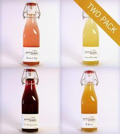 Craft Cocktail Syrup Variety Pack - Set of 2 by Quince & Apple on Scoutmob Shoppe