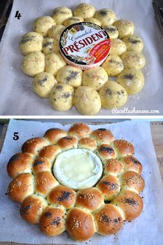 Savory brioche with camembert - aperitif idea - - Cooking Chef, Cooking Time, Cooking Recipes, Tapas, Buffet Party, Kolaci I Torte, Savoury Baking, Antipasto, Finger Foods