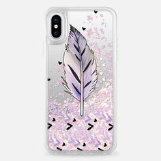Casetify iPhone X Liquid Glitter Case - Fly Away With Me by ChristineMay #GlitterDecoracion