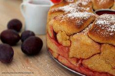 Pull-Apart-Bread mit Zimt und Zwetschgenkompott aus der Gugelhupfform {About Loaves and Fishes}