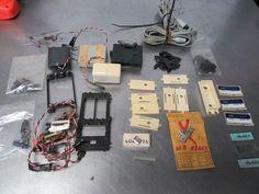 Vintage Heathkit Parts, Crystals, Servo parts, Chargers, Resisters, Stickers #HeathKit
