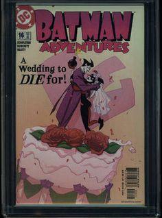 harley quinn wedding | ... #16 CGC 9.8 WEDDING CAKE CVR JOKER HARLEY QUINN HIGHEST GRADE