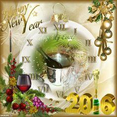 Happy New Year 2016 Happy New Year 2016, New Years 2016, Table Decorations, Christmas, Home Decor, Xmas, Decoration Home, Room Decor, Navidad