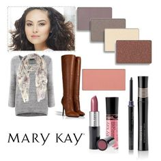 Summer is over and Autumn has arrived! Here's a fall makeup & fashion look to love this season! www.marykay.com/colleenhughes