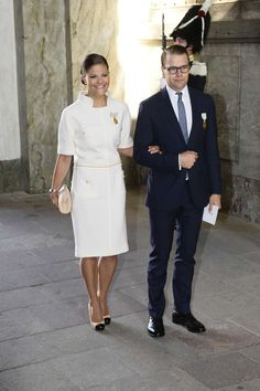 MYROYALS & HOLLYWOOD FASHİON: King Carl Gustaf 's 40th Jubilee Celebrations - Te Deum Thanksgiving Service-Crown Princess Victoria and Prince Daniel