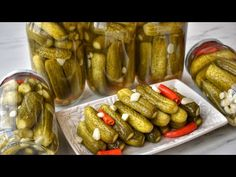 Pickles, Cucumber, Food, Kitchen, Youtube, Recipies, Cooking, Essen, Kitchens