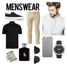 """""""Menswear"""" by popmiha on Polyvore featuring Vans, GUESS, Chor, Vivienne Westwood Man, Emporio Armani, Native Union, American Coin Treasures, Ralph Lauren, Ace and men's fashion Vivienne Westwood Man, American Coins, Emporio Armani, Men's Fashion, Vans, Menswear, Ralph Lauren, Slip On, Polyvore"""