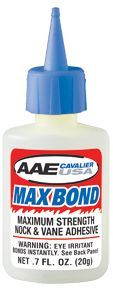 AAE CAVALIER INC AAE Max Bond Glue .7oz Bottle, EA