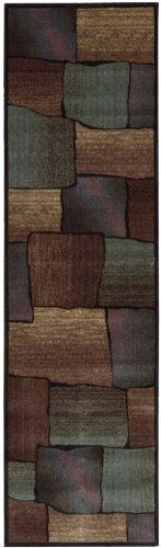 Nourison Interpretations Multi-color Abstract 2.3-Feet by 8-Feet Polyacrylic Runner Rug by Nourison. $66.29. Machine woven in China. Contemporary style. Rug pad recommended. Dry clean recommended. Hand carved, rich color blend. Nourison's own premium quality Opulon yarns create a densely woven and strikingly luxurious pile with long lasting color retention. Modern designs, most featuring hand carved lines and rich blended color fields in a large range of hues ma...