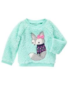 Baby Girl Mint Fuzzy Pullover by Gymboree Newborn Outfits, Toddler Outfits, Baby Boy Outfits, Kids Outfits, Toddler Girls, Baby Boy Camo, Camo Baby Stuff, Baby Boys, New Dress For Girl