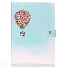 """Leather Flip For Apple iPad air Fundas Cute Cartoon Floral Pattern Stand Wallet Case For iPad 5 Cover 9.7"""" inch Tablet PC Shell"""
